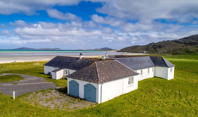 scotland, outer hebrides, real estate, beach, villa, historic, grade, category b, property, isle of barra, beautiful, bungalow, lovely, coastal, house, views, country, scottish, island, historic home
