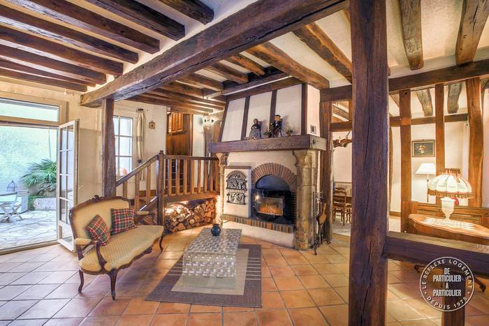 cozy, dreamy, townhouse, medieval, village, house, french, france, chartres, town, fireplace, half timber, half-timbered, wood, tile, old, historic, for sale, real estate, beautiful, charming