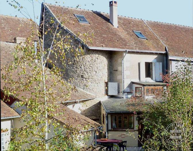 france, moulins-sur-cephons, moulins, house, home, french, tower, medieval, 19th century, 14th century, architecture, bargain, house hunting, family home, gallic, village, cottage, cozy, pretty, garden, well, fruit, tree, window, stone, charming