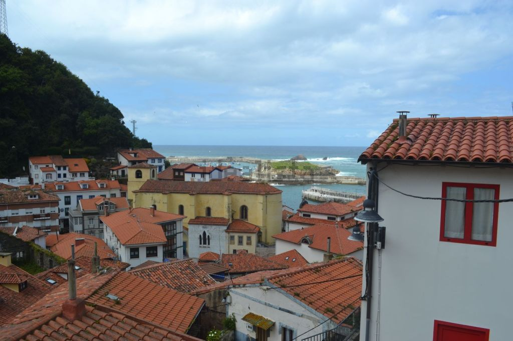spain, asturias, cudillero, cantabrian sea, cantabria, views, picturesque, fishing, village, cottage, pretty, cute, old, home, spanish, house, fisherman, sea, view, ocean, town, roofs, real estate, for sale