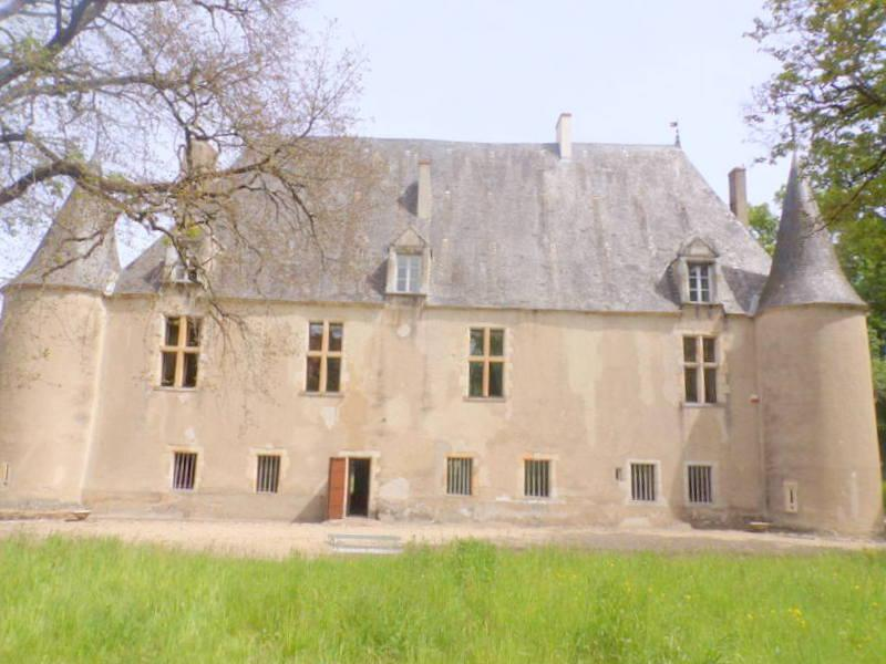 "The chateau has been in the current family since 1946 and prior to that has always been privately owned. Construction began in the 14th century with the beautiful ""Roman hall"". The design of the vaulted attic roof is known as ""coque de bateau"" due to it's ships hull shape and is made of chesnut wood rather than the more traditional French oak.  The chateau is in the forest of Grailly, named after one of it's previous owners and was built as a military outpost to protect the larger and nearby chateau of Culan. It also serves to protect the ford of the river Arnon which provided water to the surrounding area. magnificent 15th century chateau on eight acres of land"
