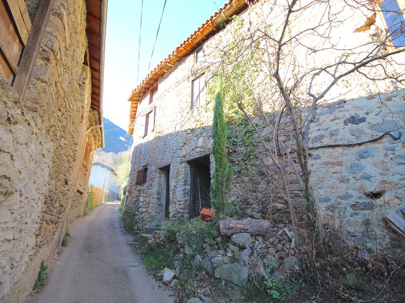 Happy Bargain Friday! On Fridays I feature cheap properties under $100K! This cute rustic loft comes with an attached barn, and is located in the gorgeous Pyrenées Orientales mountain range, close to the border with Spain and the Mediterranean Sea in the South of France.  This feels like the ancient version of a tiny home! I love the massive fireplace and the sleeping loft, and all of the antique cookware decorating the walls - useful and beautiful! The area surrounding is full of picturesque villages and stunning nature to explore, including canyoning and cave exploring! This would be a great hideaway turn into your home base for adventures in the surrounding region.