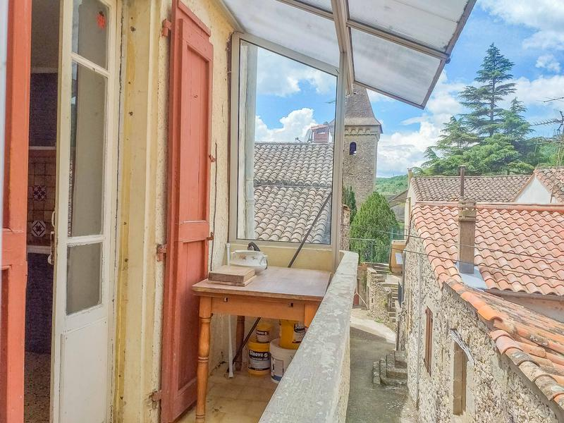 Happy Bargain Friday! A village house in the south of France with terrace looking out to charming views!