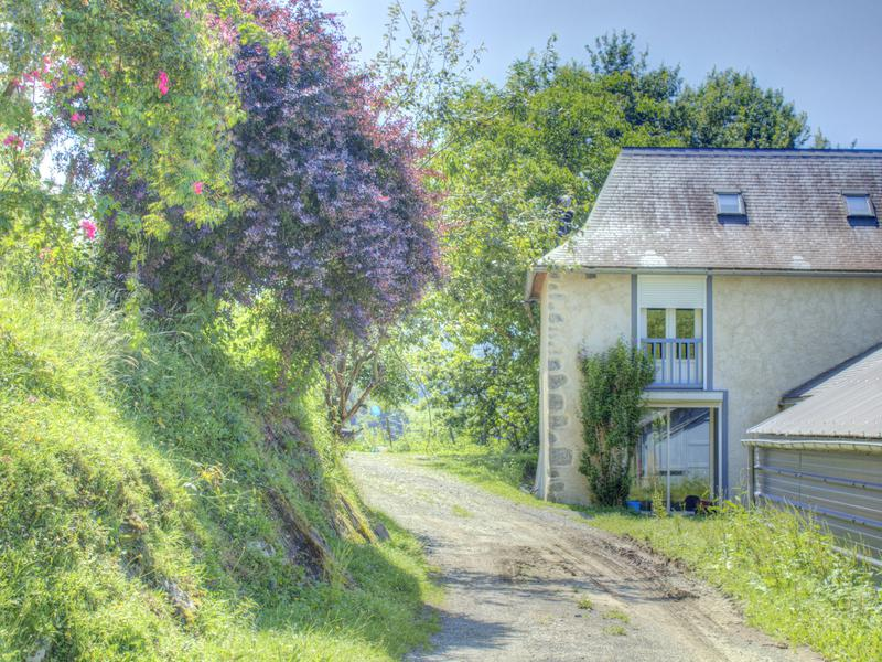 Dating back to the 1700s, this splendid property in the Pyrénées comprises a farmhouse of 94m², which has been double glazed throughout, a two-storey stone barn ideal for a gîte, another stone barn to convert further along the hillside, a huge milking parlour of 250m² with facilities for making cheese and various outbuildings, including an open-sided hangar adjoining the farmhouse. The organic-certified land of 111,439m² (28 acres) extends up the hillside and is ideal for grazing.
