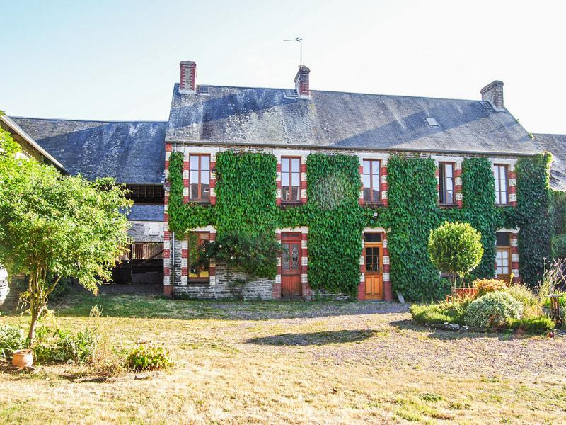 A charming stone-built property with outbuildings, an annexe, and land. The main house is spacious with 4 bedrooms and has double glazing all round. The annexe has one bedroom. Extensive stone outbuildings surrounding a courtyard. Close to the D-Day landing beaches and Bayeux, it sits on the edge of a small village in a quite situation.