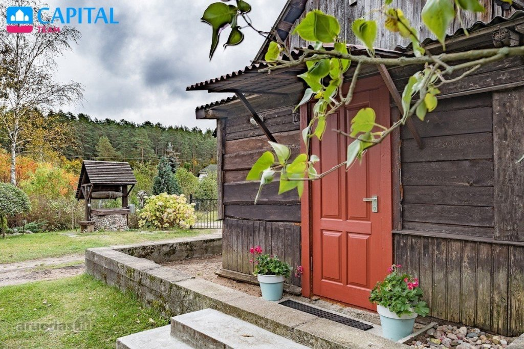 Happy Bargain Friday! A Lithuanian country homestead with 20 acre plot of land in a beautiful area, only 30 minutes' drive from Vilnius.