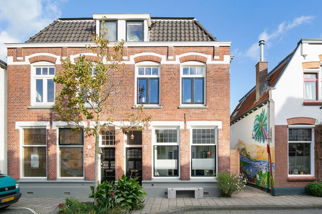 A beautiful Dutch townhouse circa 1911 with five bedrooms, located in the small town of Enschede, Netherlands.