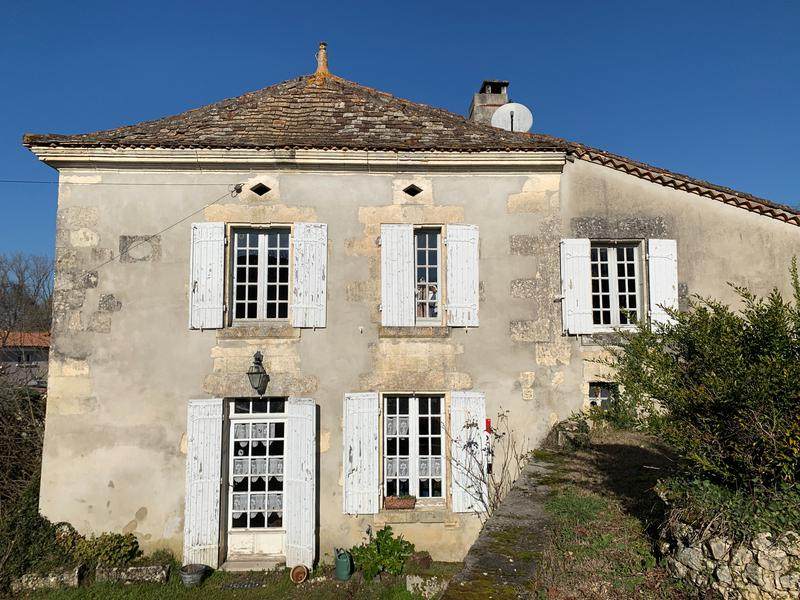 A pretty, three bedroom French village house with barn and 2.5 acres of land to renovate, located in the Charente.