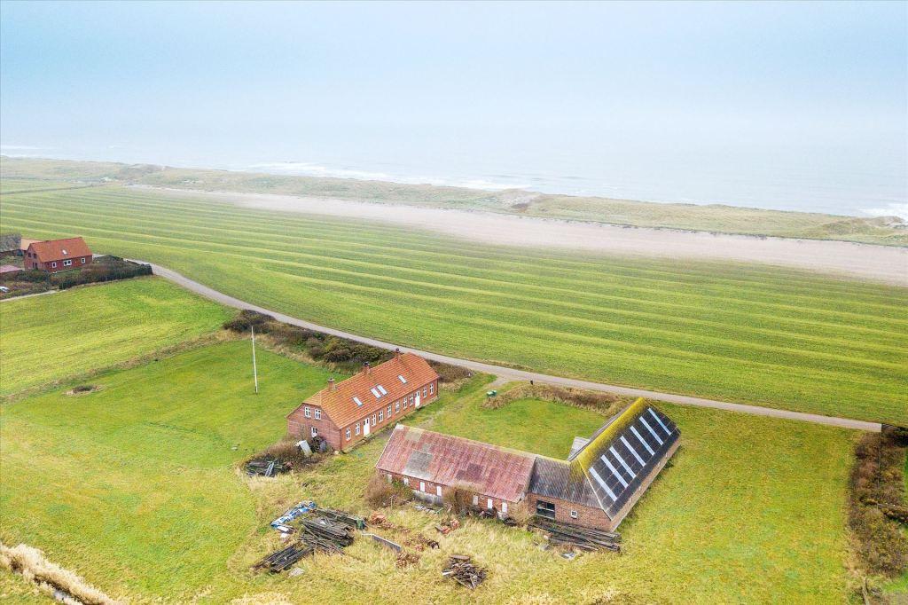 Coastal artist's home and studio, traditional Danish farmhouse circa 1913 near the beaches of Fjaltring, Denmark!