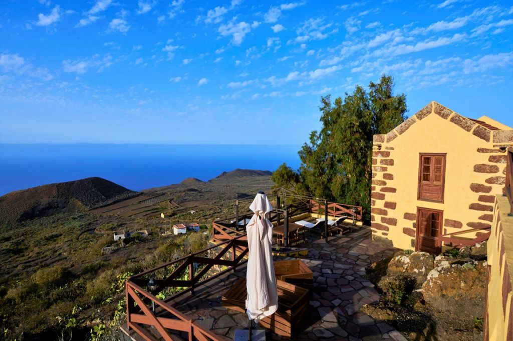 Canary Islands! A picturesque home on the island of El Hierro with panoramic views, surrounded by natural beauty.