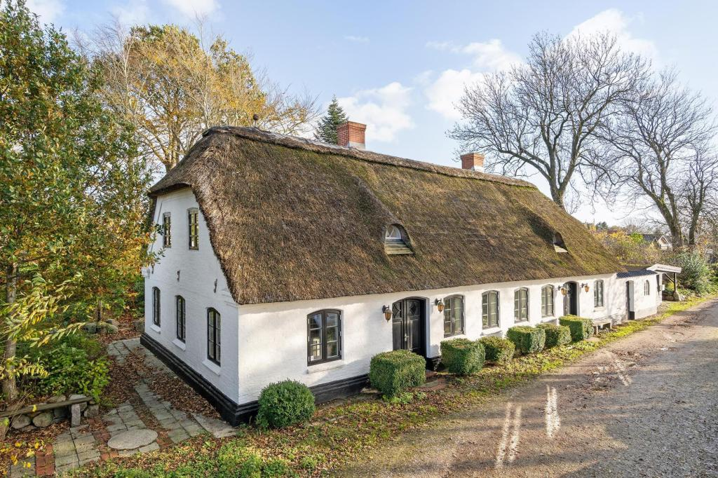 House perfection: cozy Danish family home in a village only 30 minutes from sandy beaches.