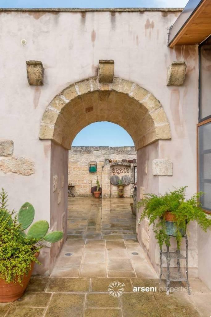 An ancient Italian masseria near the sea, divided into gorgeous mini apartments! In Andrano, Lecce, Italy.