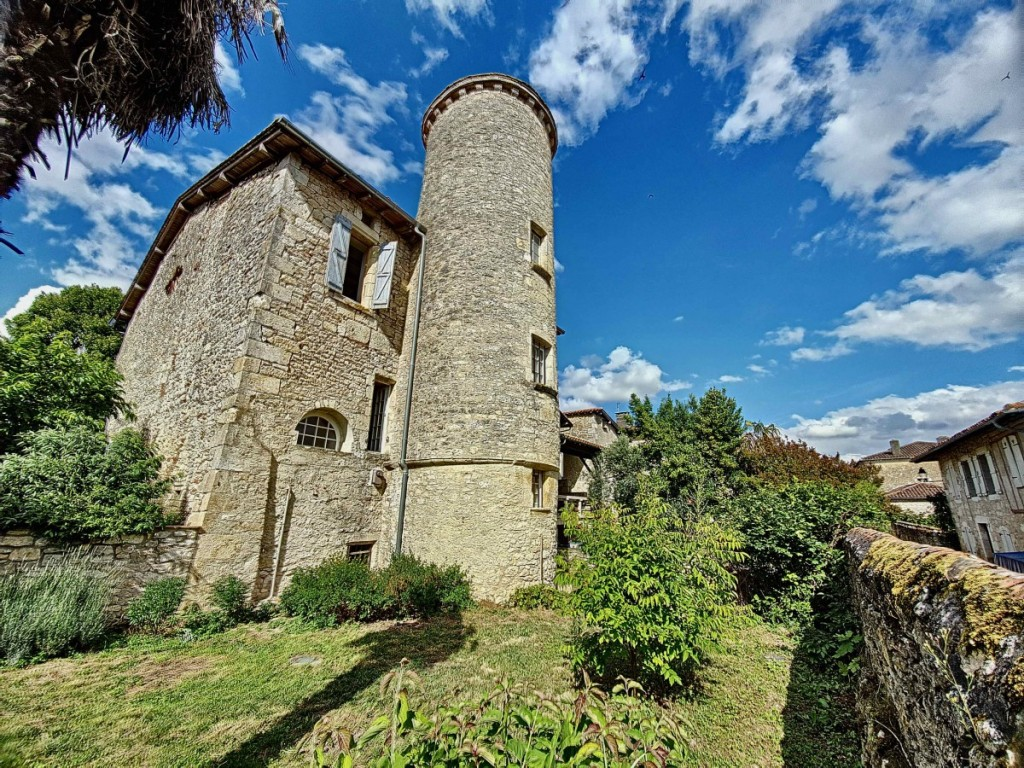 A 12th Century French castle with generous walled garden located in a small village in the Gers!
