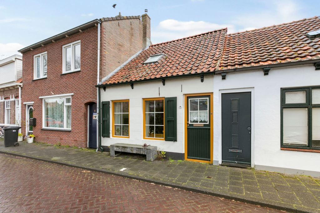A sweet and historic small Dutch house circa 1835 with lots of character in Colijnsplaat, Netherlands.