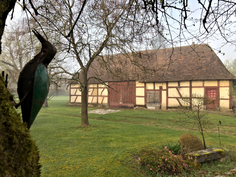 Community Post: Peaceful Farmhouse Circa 1888 and Heritage Half-Timbered Barn, Large Garden with Fruit and Walnut Trees - Gannay-sur-Loire, Alliers, France - €247,000