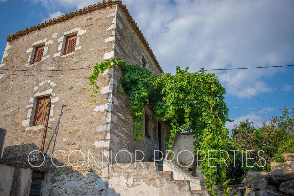 A beautiful, characterful old Greek tower-home for sale in Mani, Peleponnese, Greece!